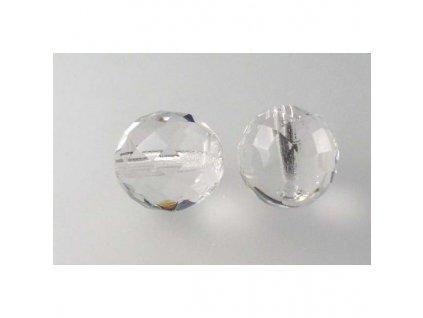 Fire polished glass bead 14 mm 00030