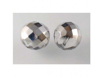 Fire polished glass bead 14 mm 00030/27001