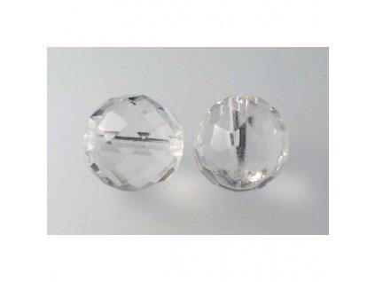 Fire polished glass bead 16 mm 00030