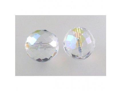 Fire polished glass bead 18 mm 00030/28701