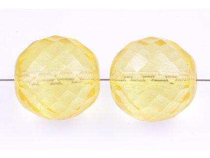 Fire polished glass bead 18 mm 00030/45026