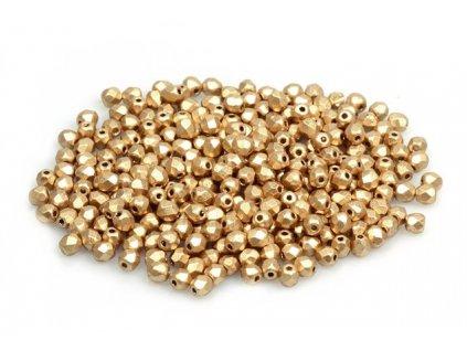 Fire polished glass bead 3 mm 00030/01710
