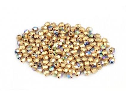 Fire polished glass bead 3 mm 00030/01710/28701