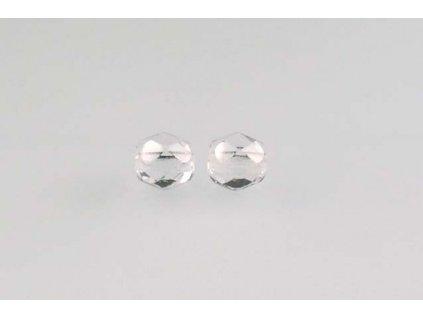 Fire polished glass bead 5 mm 00030