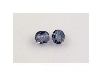 Fire polished glass bead 6 mm 00030/14235