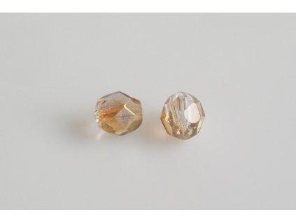 Fire polished glass bead 6 mm 00030/14295
