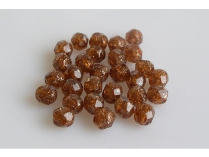 Crackled bead 15119001 6 mm 10220/85500