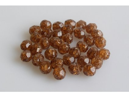 Crackled bead 15119001 6 mm 10230/85500