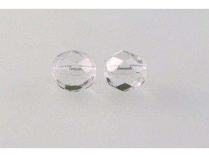 Fire polished glass bead 7 mm 00030