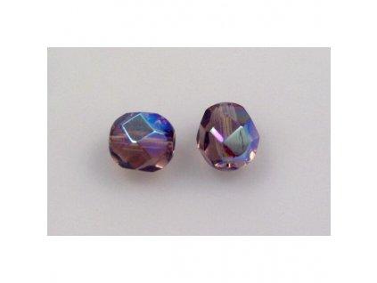 Fire polished glass bead 7 mm 20040/28701