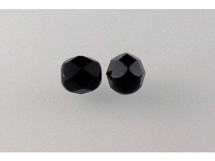 Fire polished glass bead 7 mm 23980
