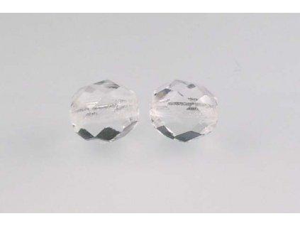Fire polished glass bead 8 mm 00030