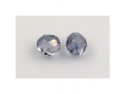 fire polished glass bead 8 mm 00030/14235