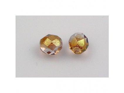Fire polished glass bead 8 mm 00030/14295