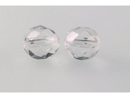 Fire polished glass bead 9 mm 00030