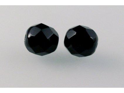 Fire polished glass bead 9 mm 23980