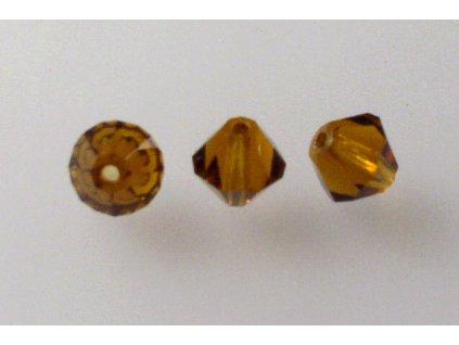 M. C. beads bicones 6 mm 10110