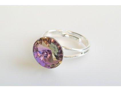 ring Rivoli 12 mm crystal VL made with Swarovski®  Elements