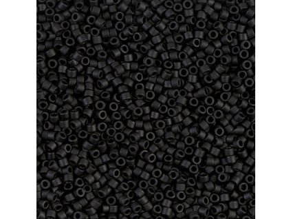 MIYUKI Delica 11/0 Black Matted