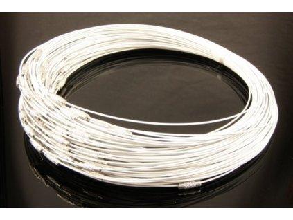 Steel wire White