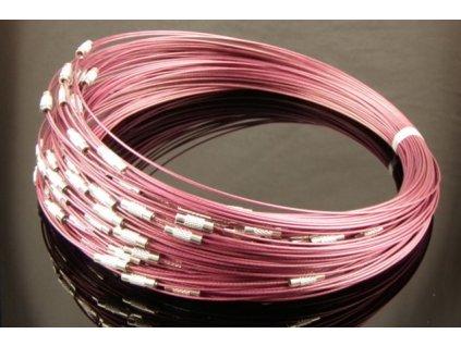 steel wire burgundy