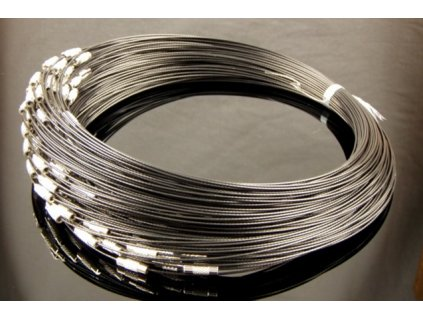 Steel wire black