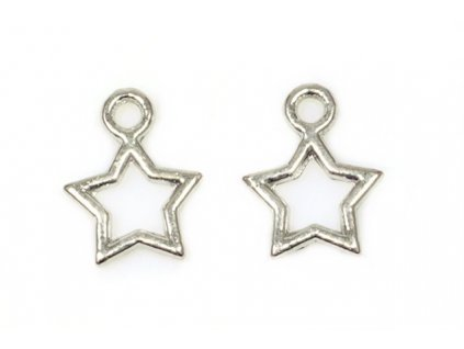 Star 10x10 mm, platinum