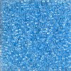 MIYUKI Delica 11/0 Transparent Sky Blue Lustre