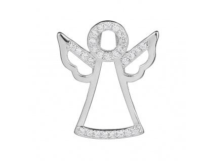 Stříbrný přívěsek ANDĚL 13 mm