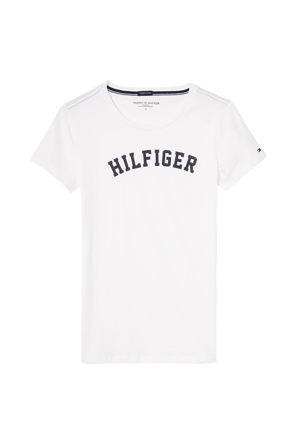 tommy hilfiger logo print t shirt 2
