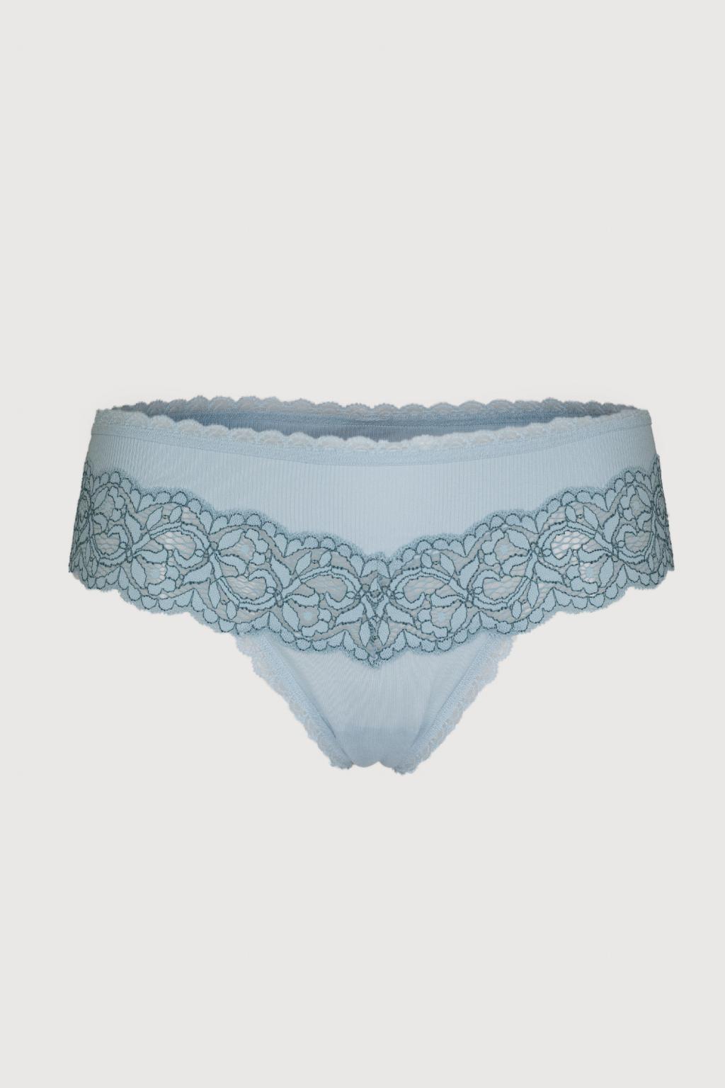 Luxusní tanga kalhotky Victoria's Secret – lolita blue