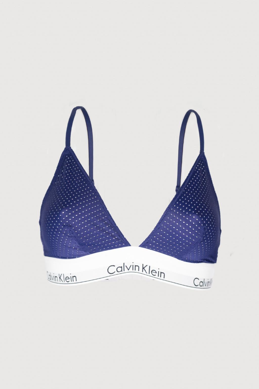 Podprsenka Calvin Klein – Triangle Shilo Blue