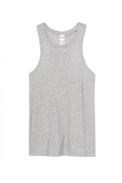 sportovni tilko victoria s secret high neck tank front
