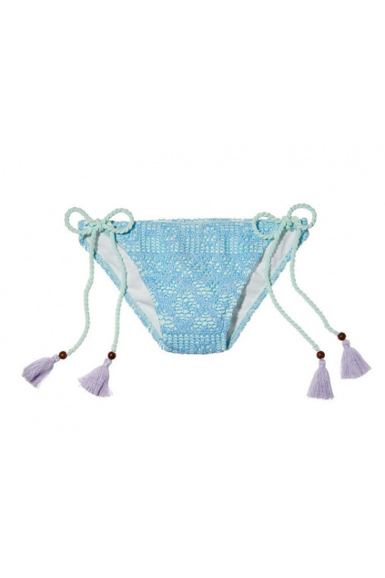 Dámské bikinové kalhotky / The Teeny Bikini Bottom – modré