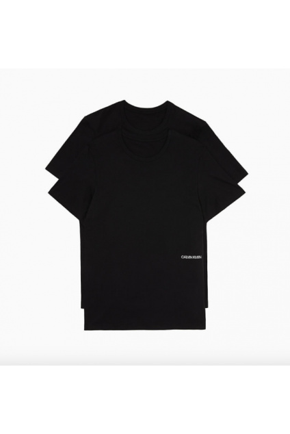 Calvin Klein 2pack unisex t-shirt statement 1981 černá
