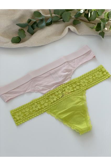 Set kalhotek Victoria's Secret - mix tanga č.13