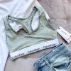Calvin Klein Modern Cotton Bralette – podprsenka šedá