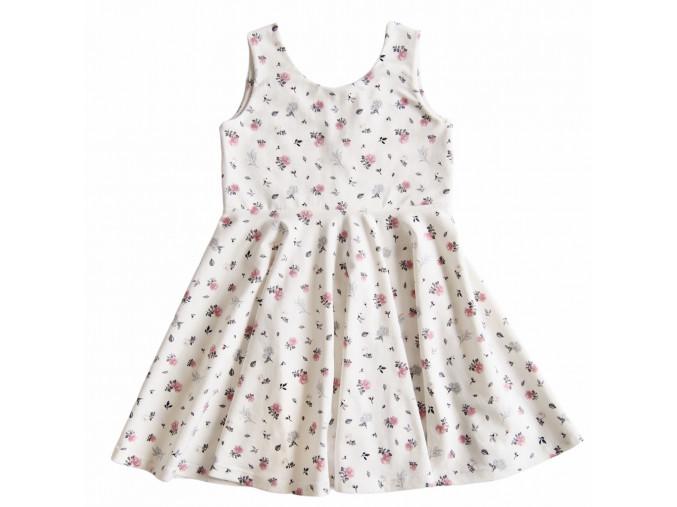 kolové šaty roses