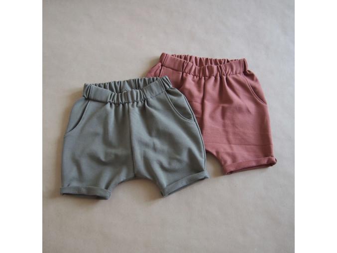 teplákové šortky 2