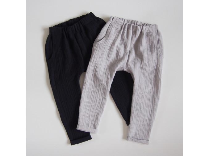 mušelínové kalhoty (více variant)