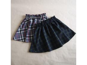 kostkovaná sukně (více variant)