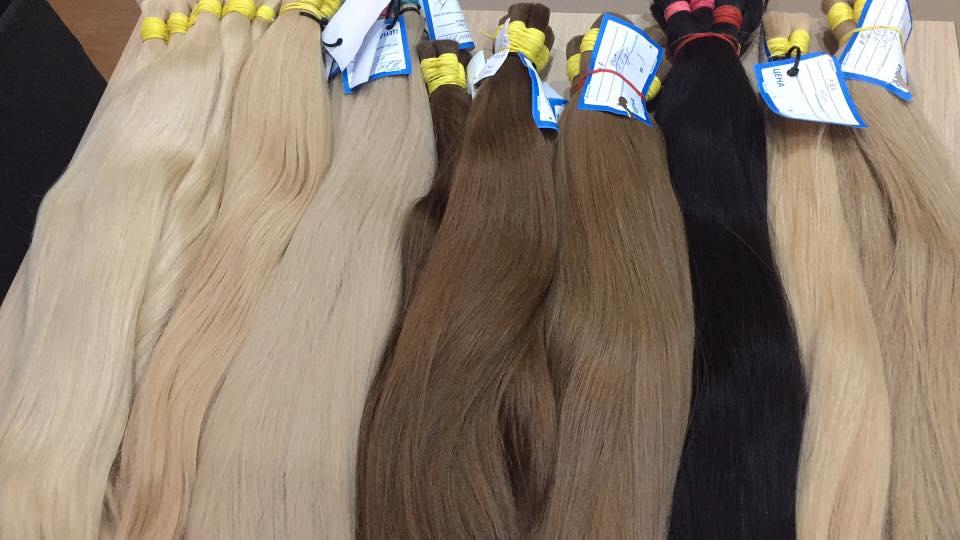 Východoevropské vlasy ruské barvené