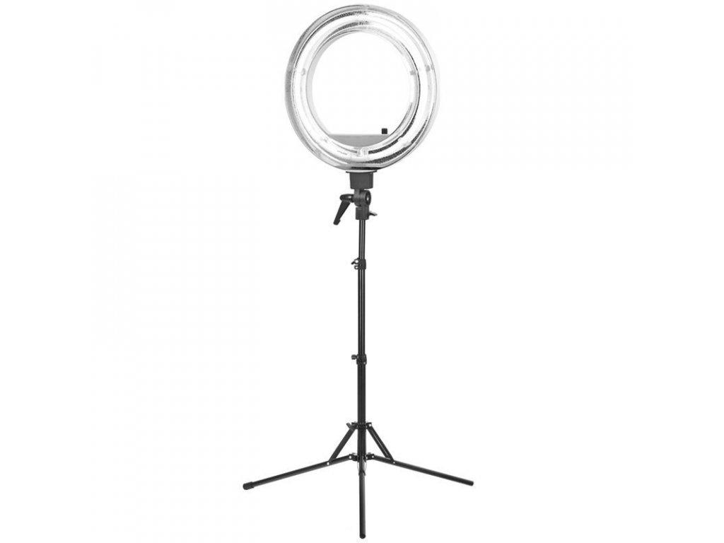 "Kosmetická LED lampa prstenec 18"" 55W"