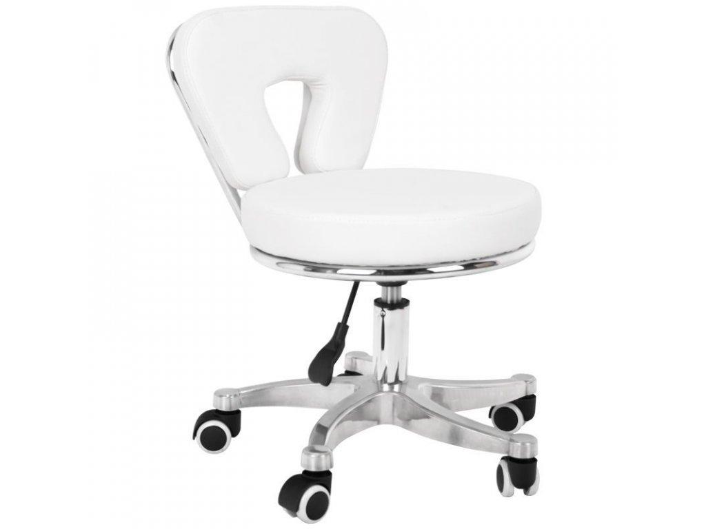 Kosmetická židle Callisimo 9266 bílá