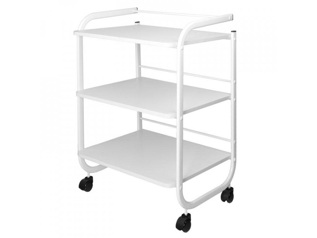 SYIS Kosmetický vozík - bílá barva 1013D