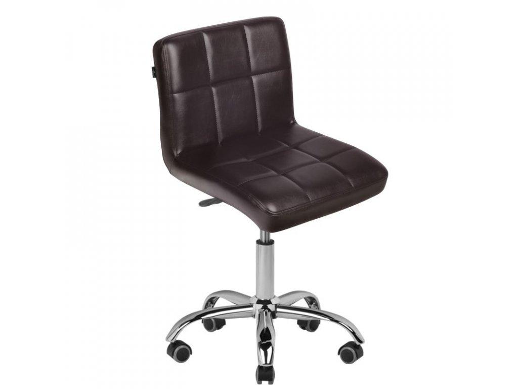 Kosmetická židle Hnědá A-5299