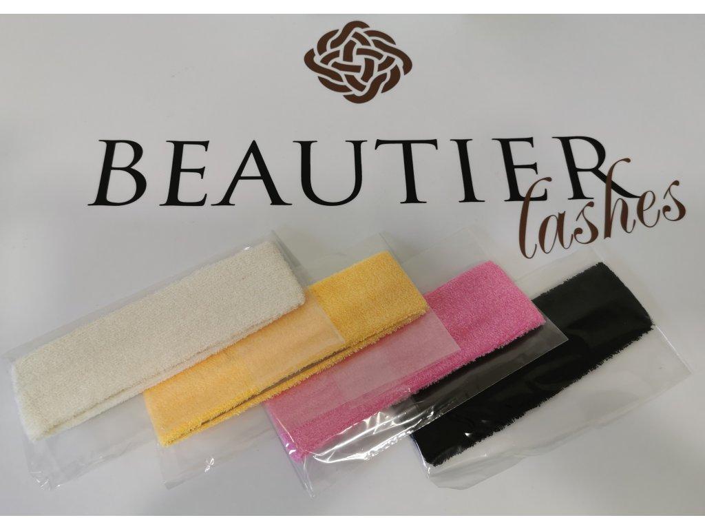 Beautier Froté kosmetická čelenka - růžová