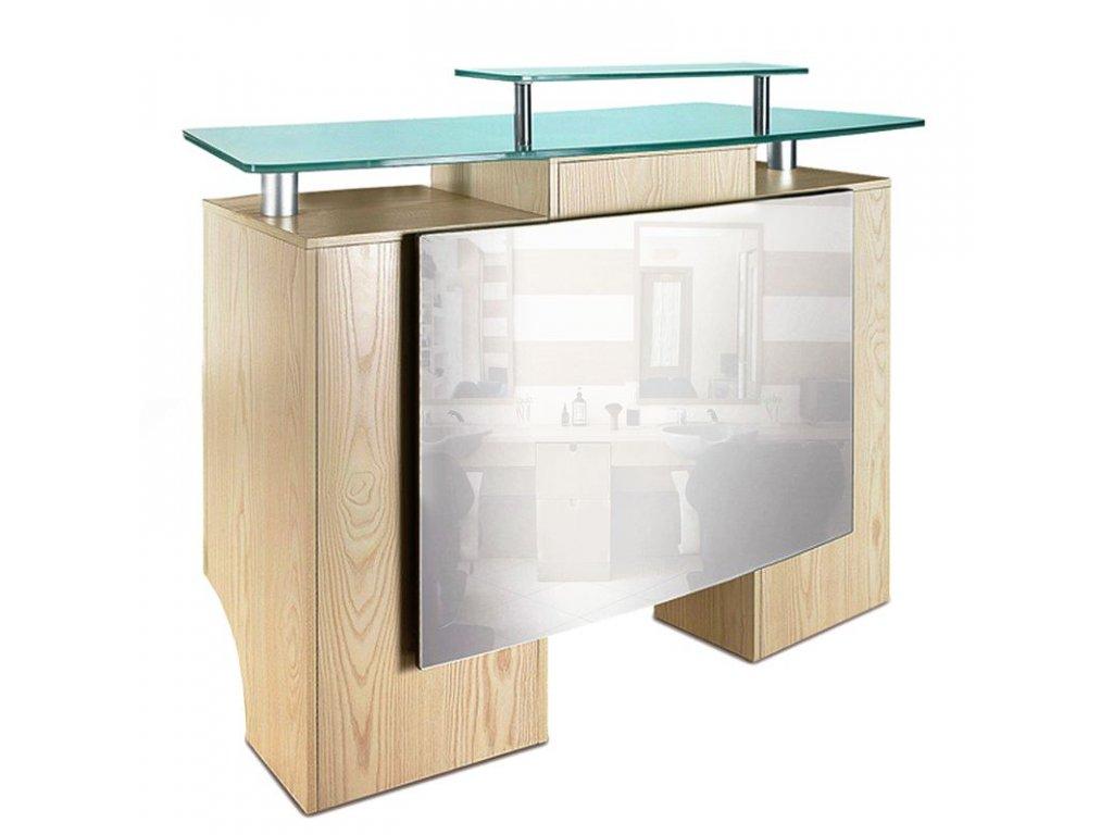 Recepce do salonu Gabbiano dřevěná