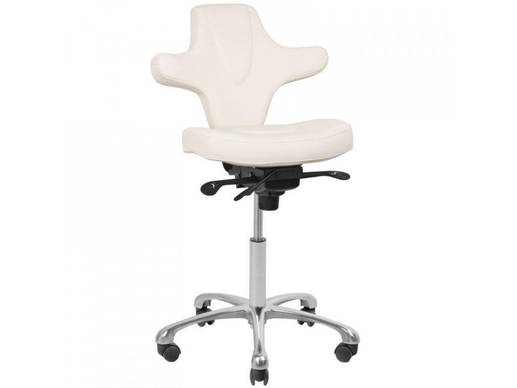 Kosmetická pedikérská židle AZZURO SPECIÁL 052 BÍLÁ