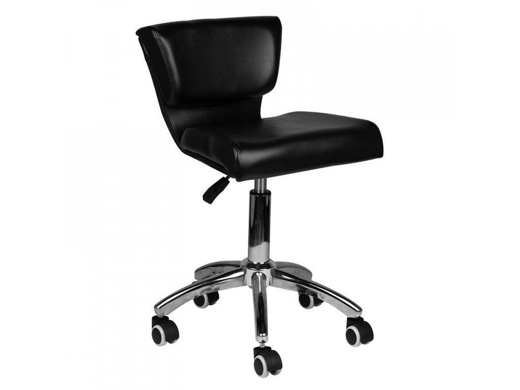 Kosmetická židle 227 černá